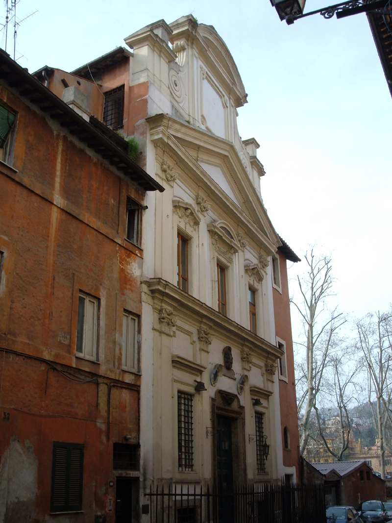 Oratorio del gonfalone roma wikipedia - Gonfalone mobili roma ...