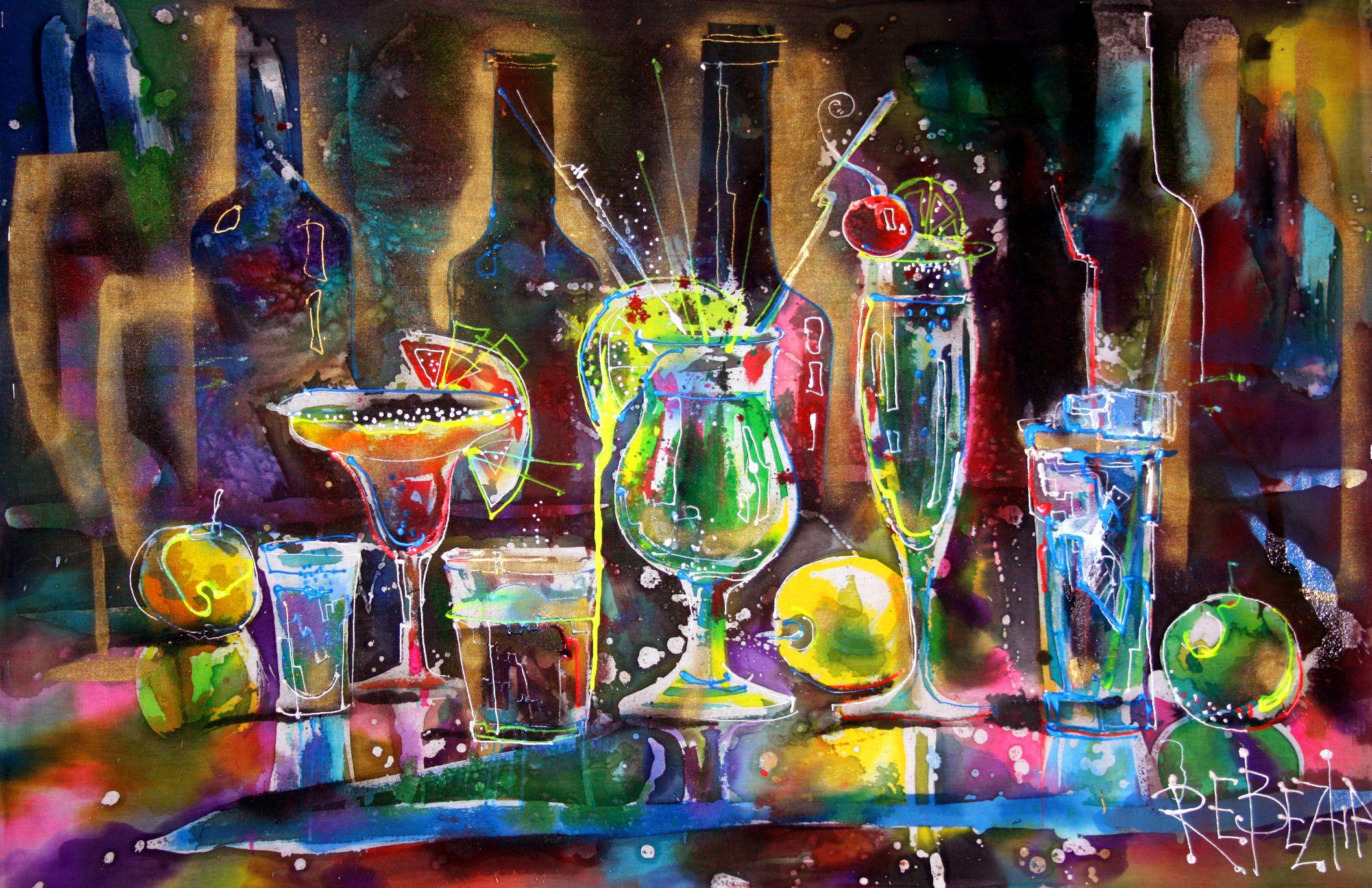 image: Paintings by Ekaterina Rebezha