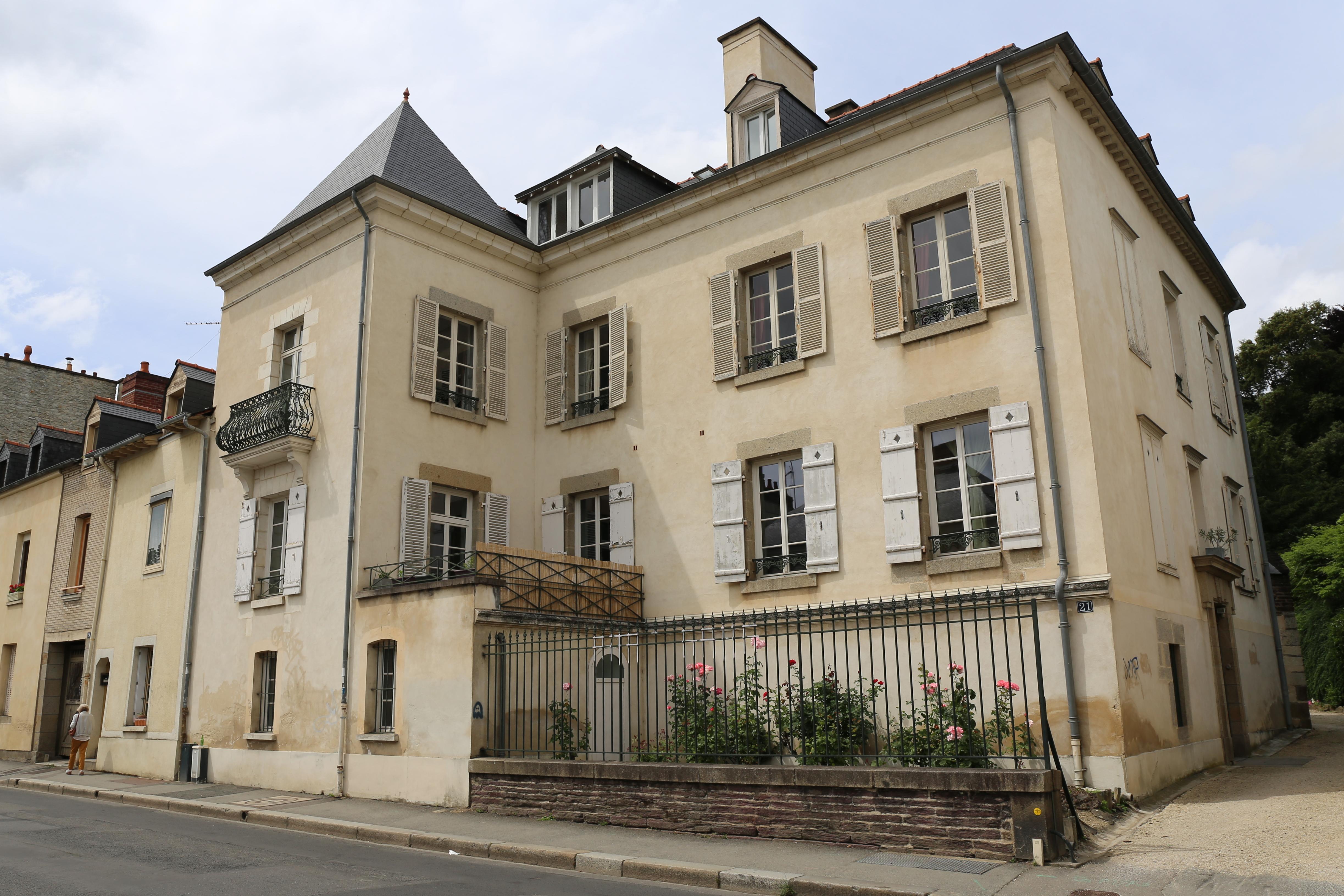 File Rennes Maison 21 Rue De Paris Jpg Wikimedia Commons
