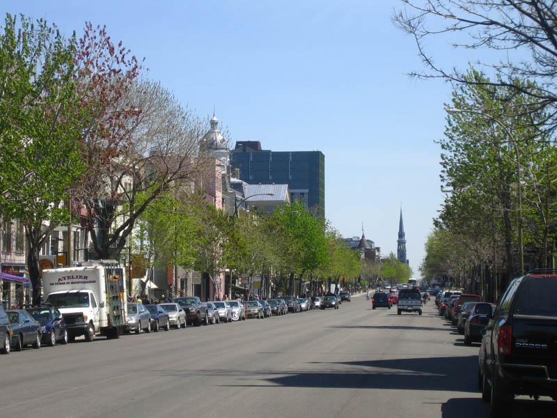 Rue saint denis montr al wikiwand for Meubles montreal st denis