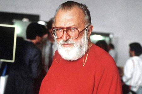 Photo Sergio Leone via Opendata BNF