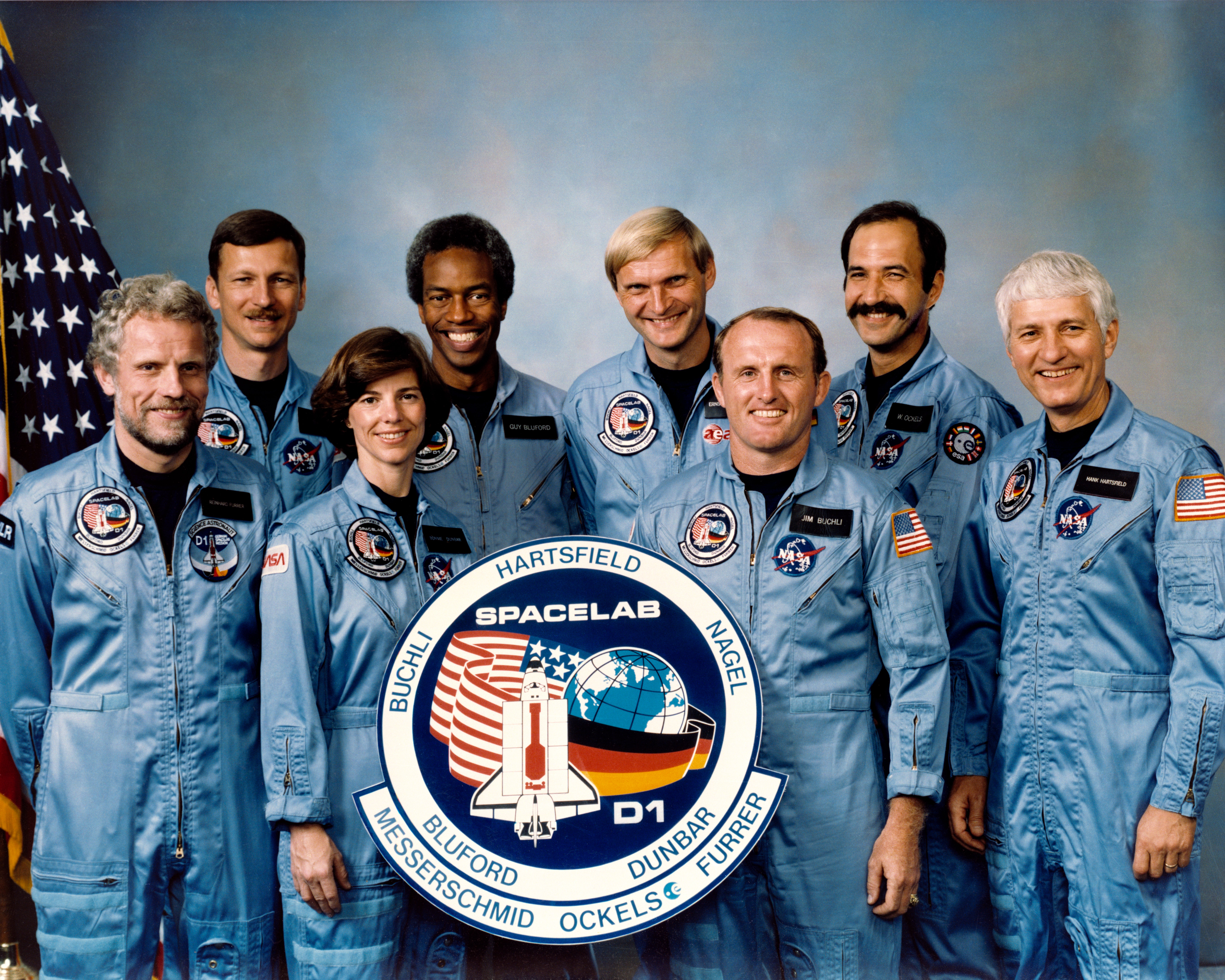 """""""The Earth-orbiting space shuttle Challenger beyond the ..."""