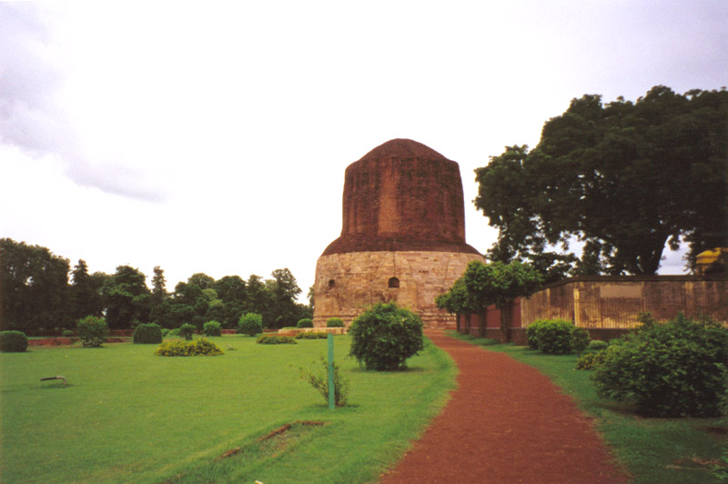 Dhamek Stupa temple, India: 249 B.C.