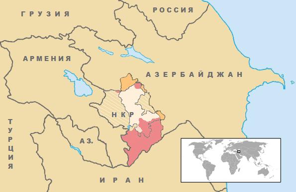 Вооружённый конфликт в Нагорном Карабахе (2020) — Википедия