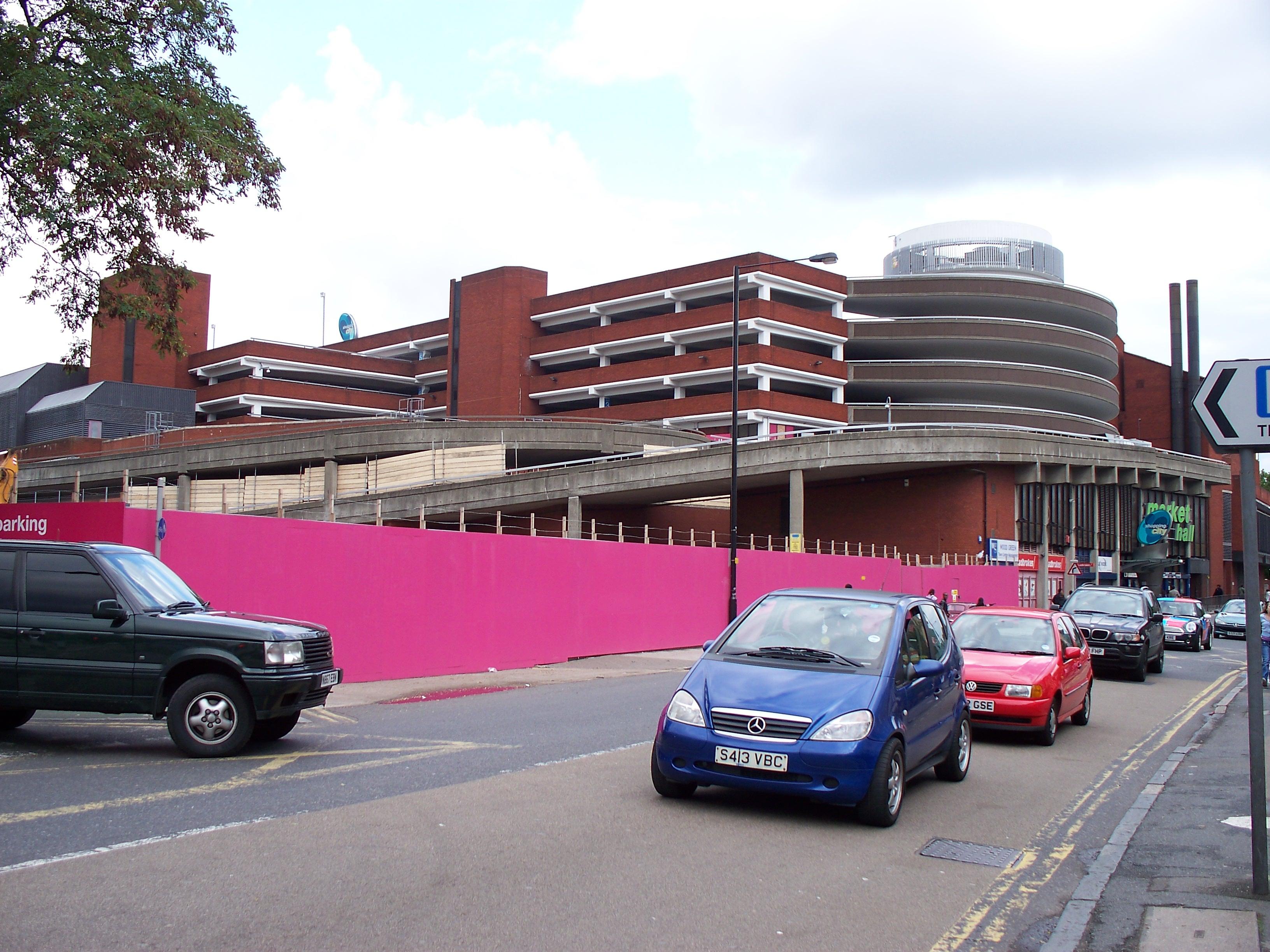 Luton Shopping Centre Car Park