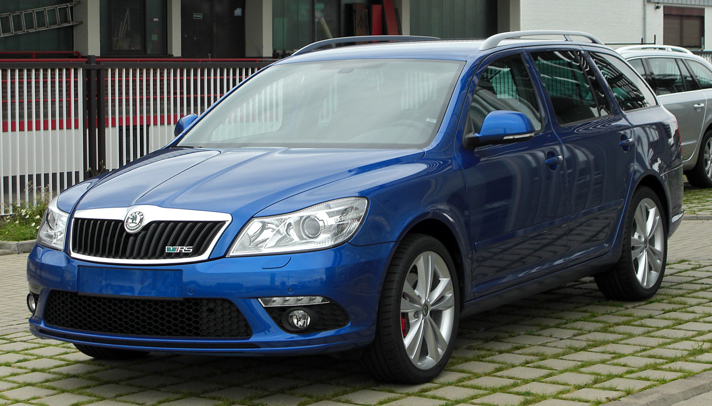 file skoda octavia ii combi rs facelift front. Black Bedroom Furniture Sets. Home Design Ideas