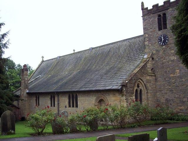 St Hilda's Church, Ampleforth - geograph.org.uk - 533642