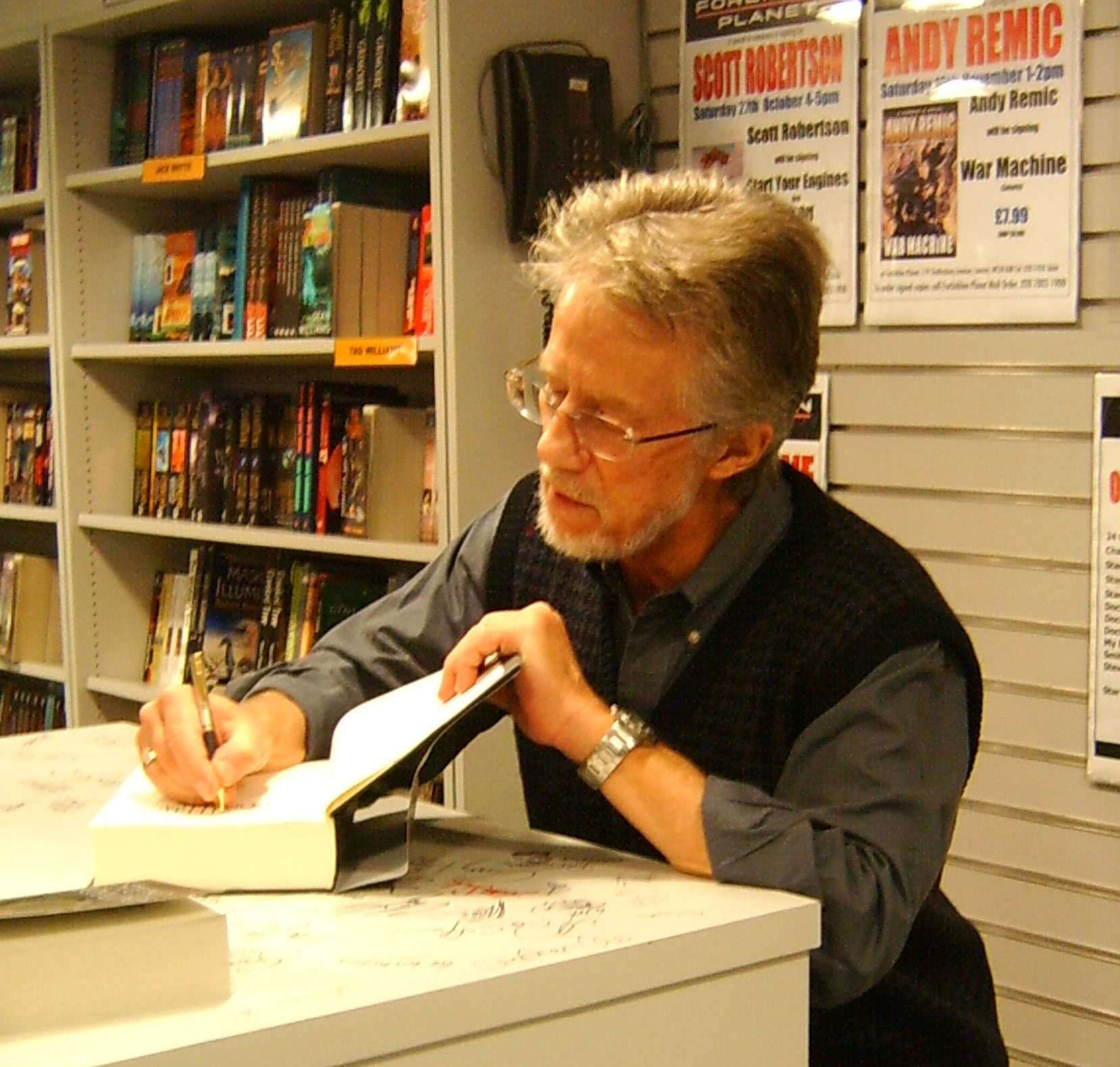 Picture of an author: Stephen Donaldson