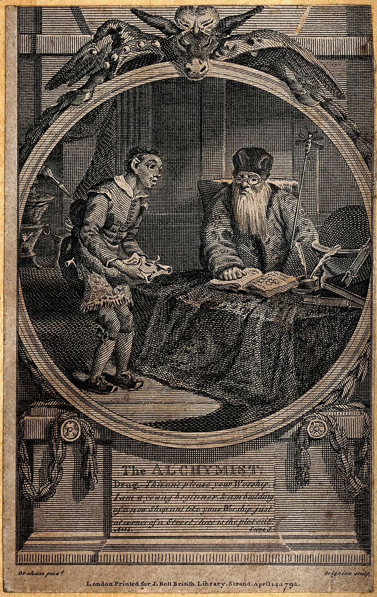 file subtle the alchemist posing as an astrologer being ed file subtle the alchemist posing as an astrologer being ed wellcome v0025571