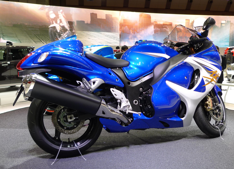 File:Suzuki Hayabusa At Tokyo Motor Show 2013 7