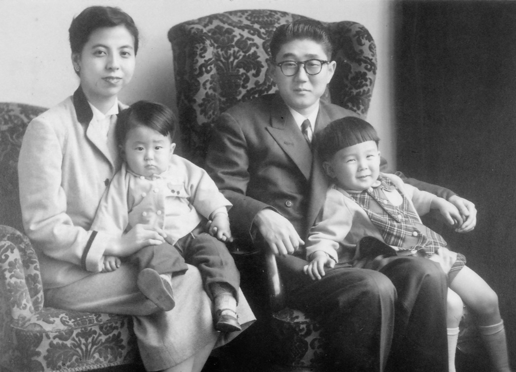 The Abe family in 1956.jpg