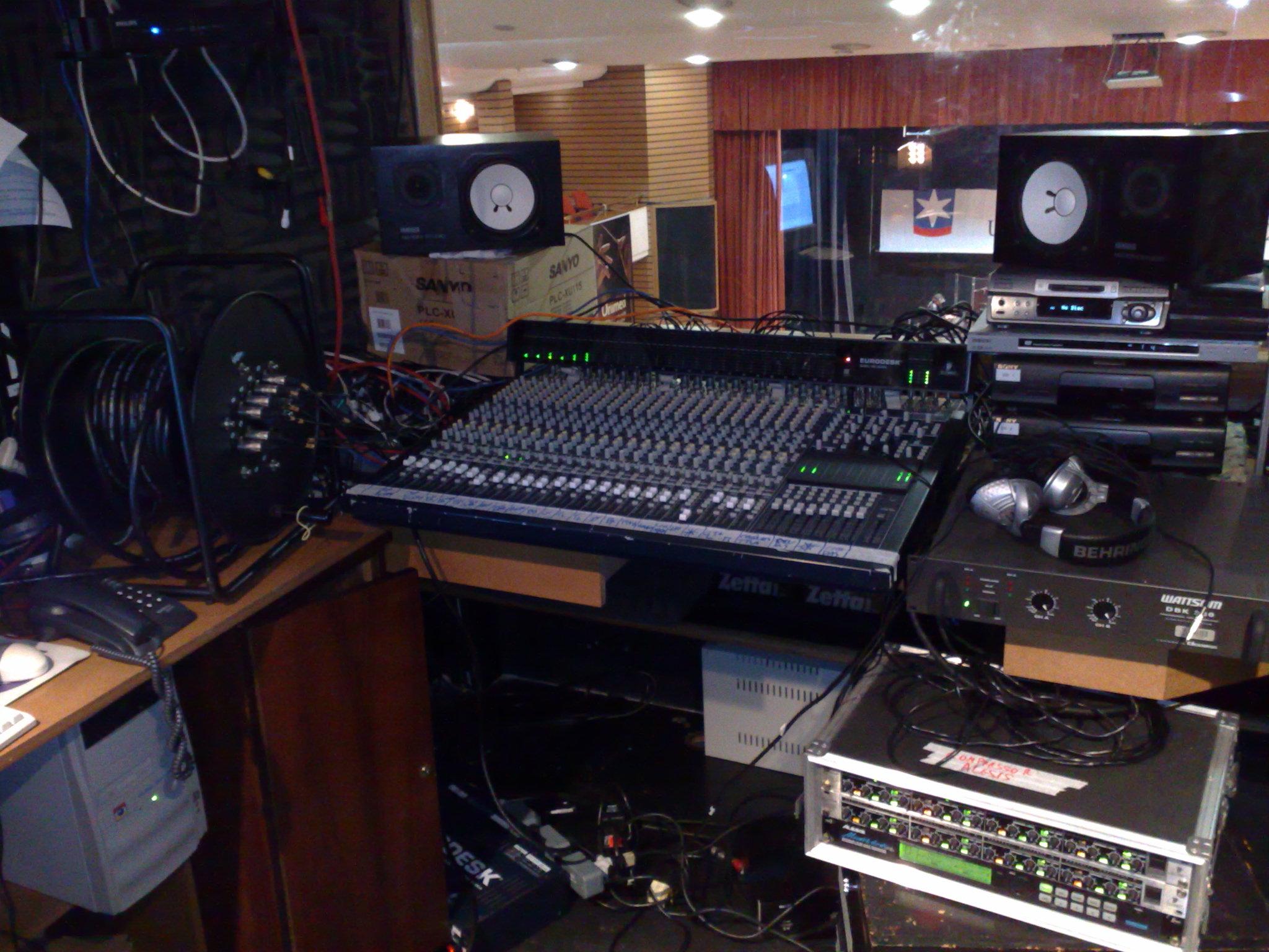 filetheater sound design behringer mx8000 yamaha ns10m