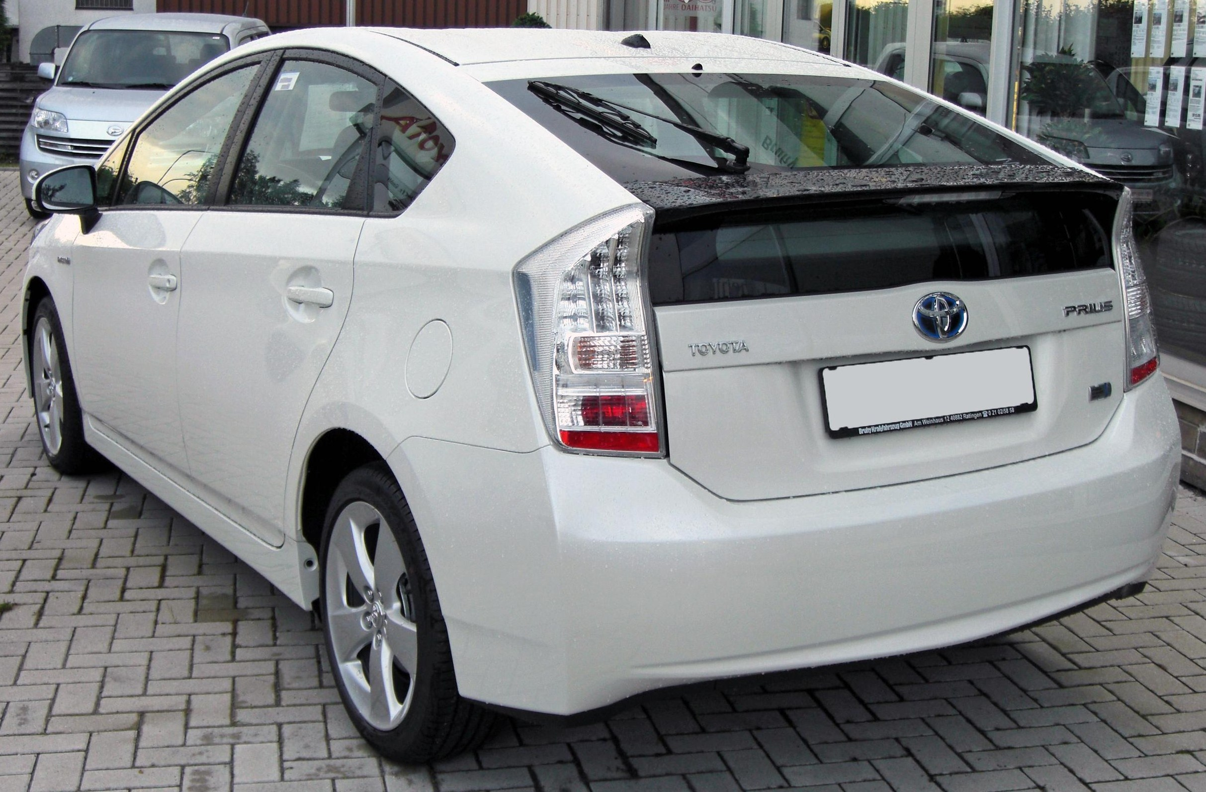 file toyota prius iii 20090710 rear jpg wikimedia commons. Black Bedroom Furniture Sets. Home Design Ideas