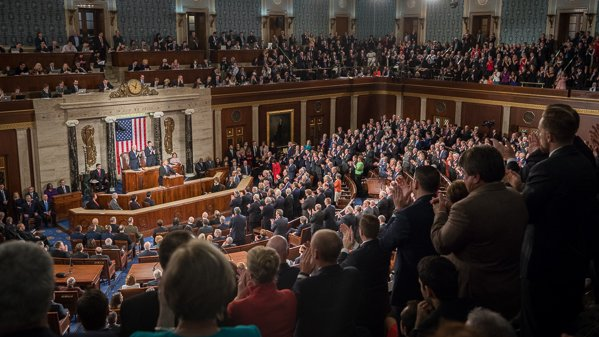 Congress Addressed by Pres. Trump