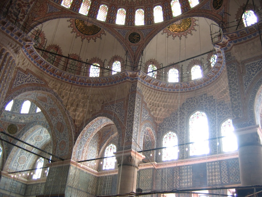 Turquie - Istanbul - Mosquee bleue - interieur.jpg