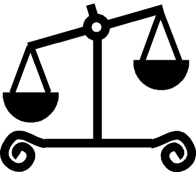 Scales of Justice [Public Domain]