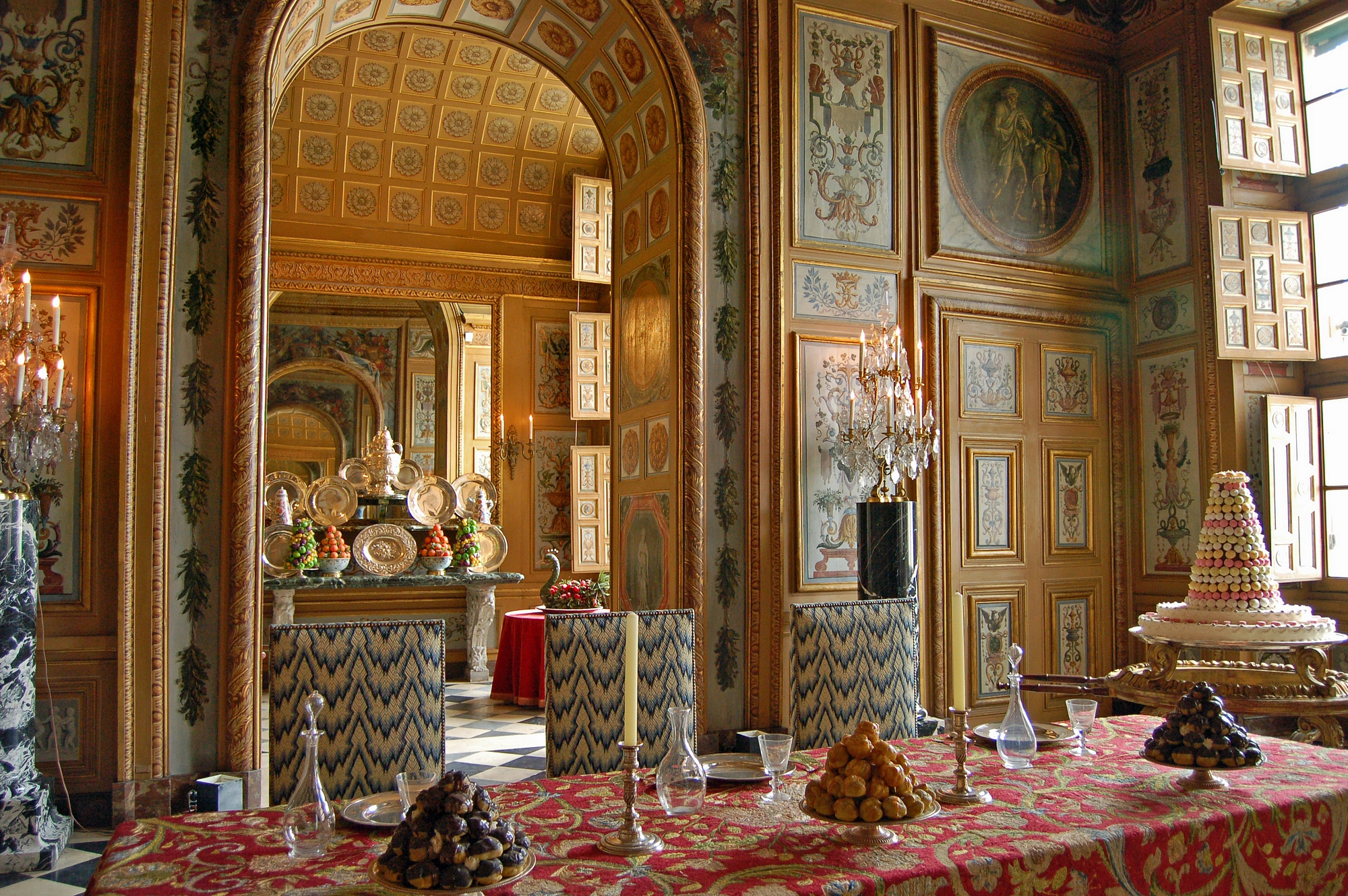 File vaux le vicomte dining room salle for Salle a manger in english