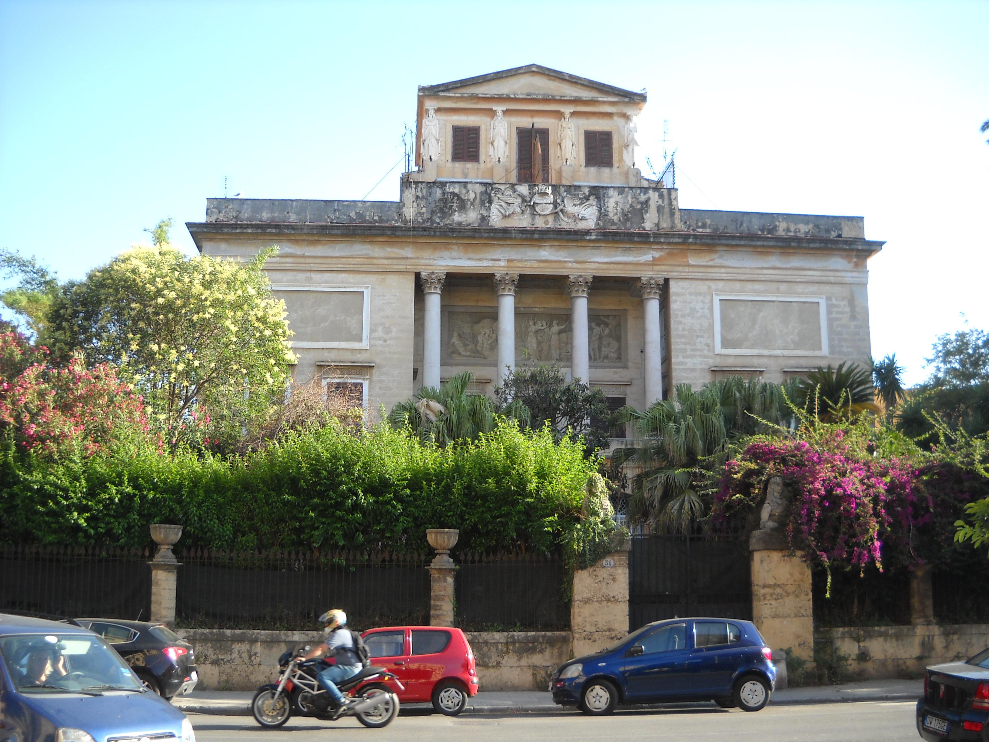 Villa Belmonte Palermo Via Noce