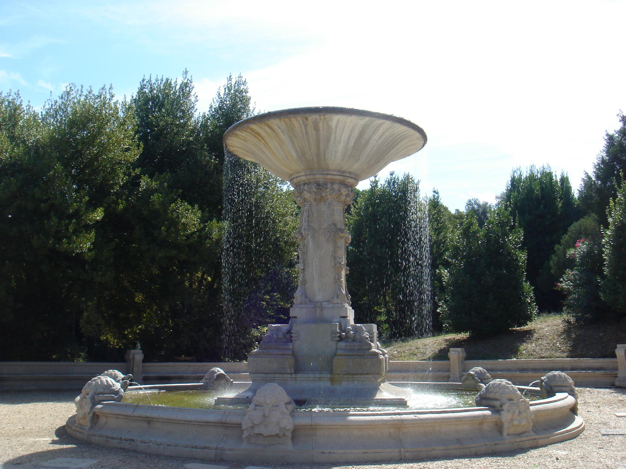 Fontane Oscure Villa Borghese