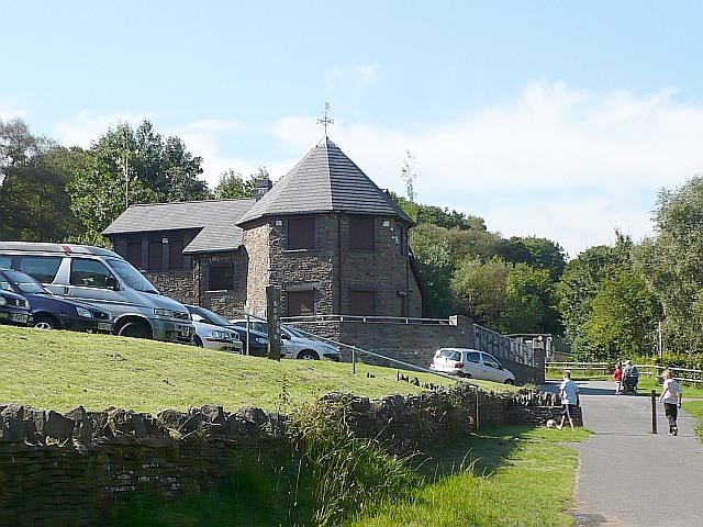 Visitor centre, Parc Cwm Darran - geograph.org.uk - 653524