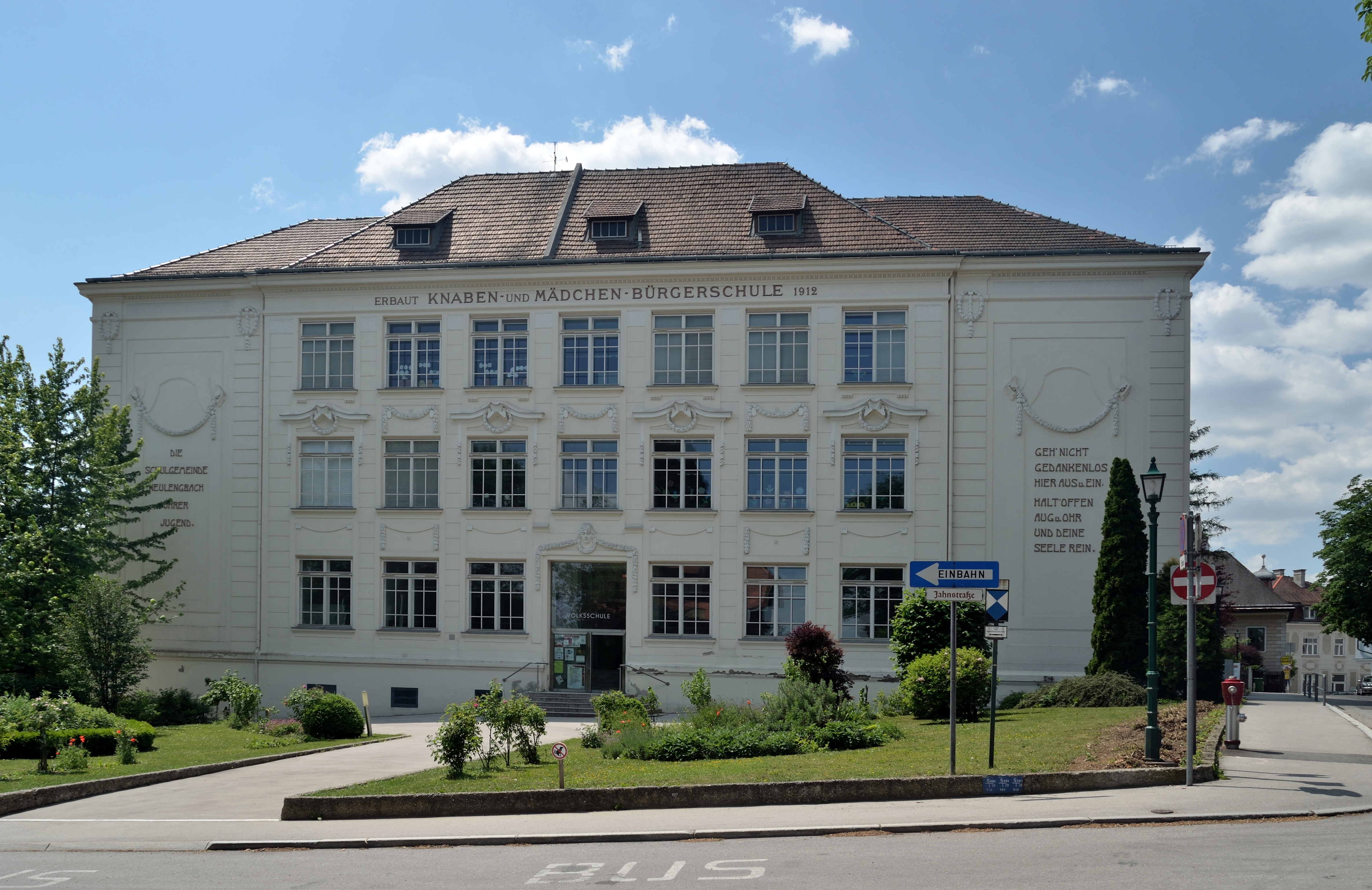 File Volksschule Neulengbach Jpg Wikimedia Commons