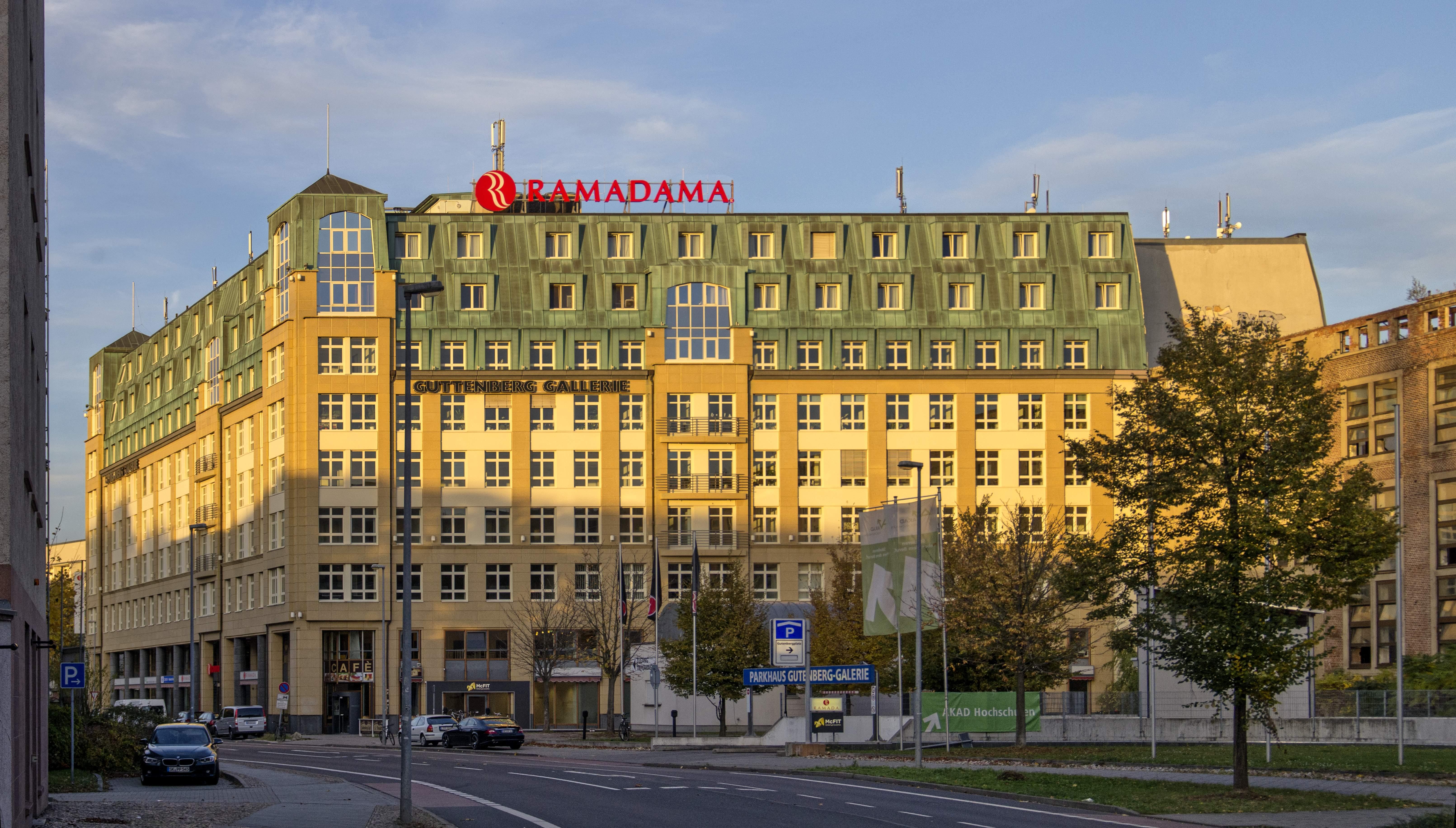 Ramada Hotel Leipzig City Centre Gutenbergplatz