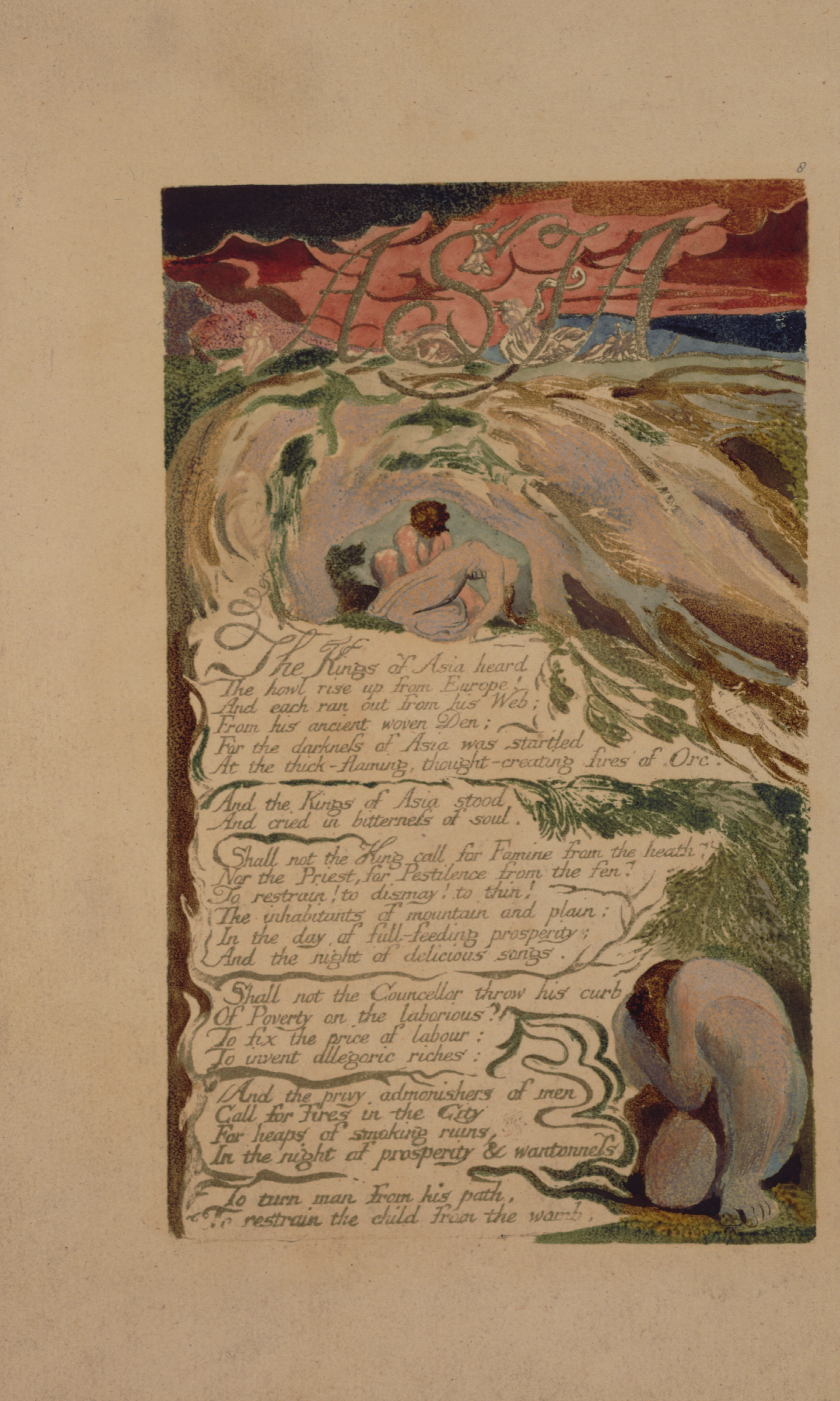 response to william blake s songs of