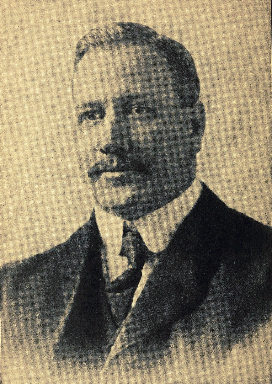 William G. Morgan, inventor of volleyball (c. 1895) – History of Volleyball
