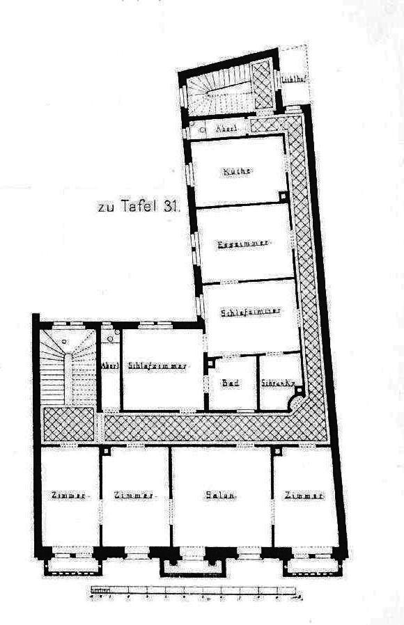 FileWohnhaus Schillerstrasse 5 Baden Architekt Camill Frei In Karlsruhe
