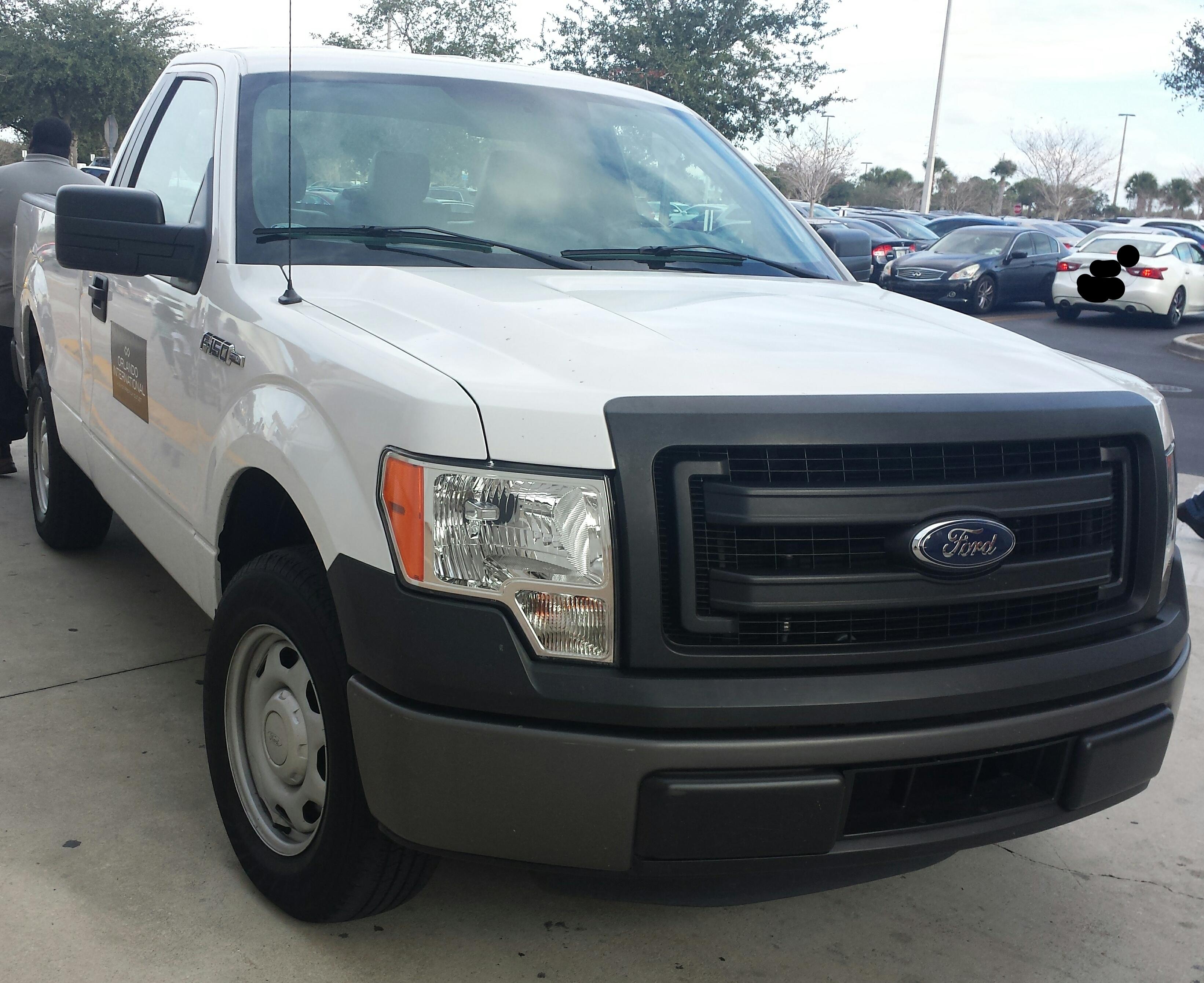 File13 14 Ford F 150 Regular Cab Orlando International
