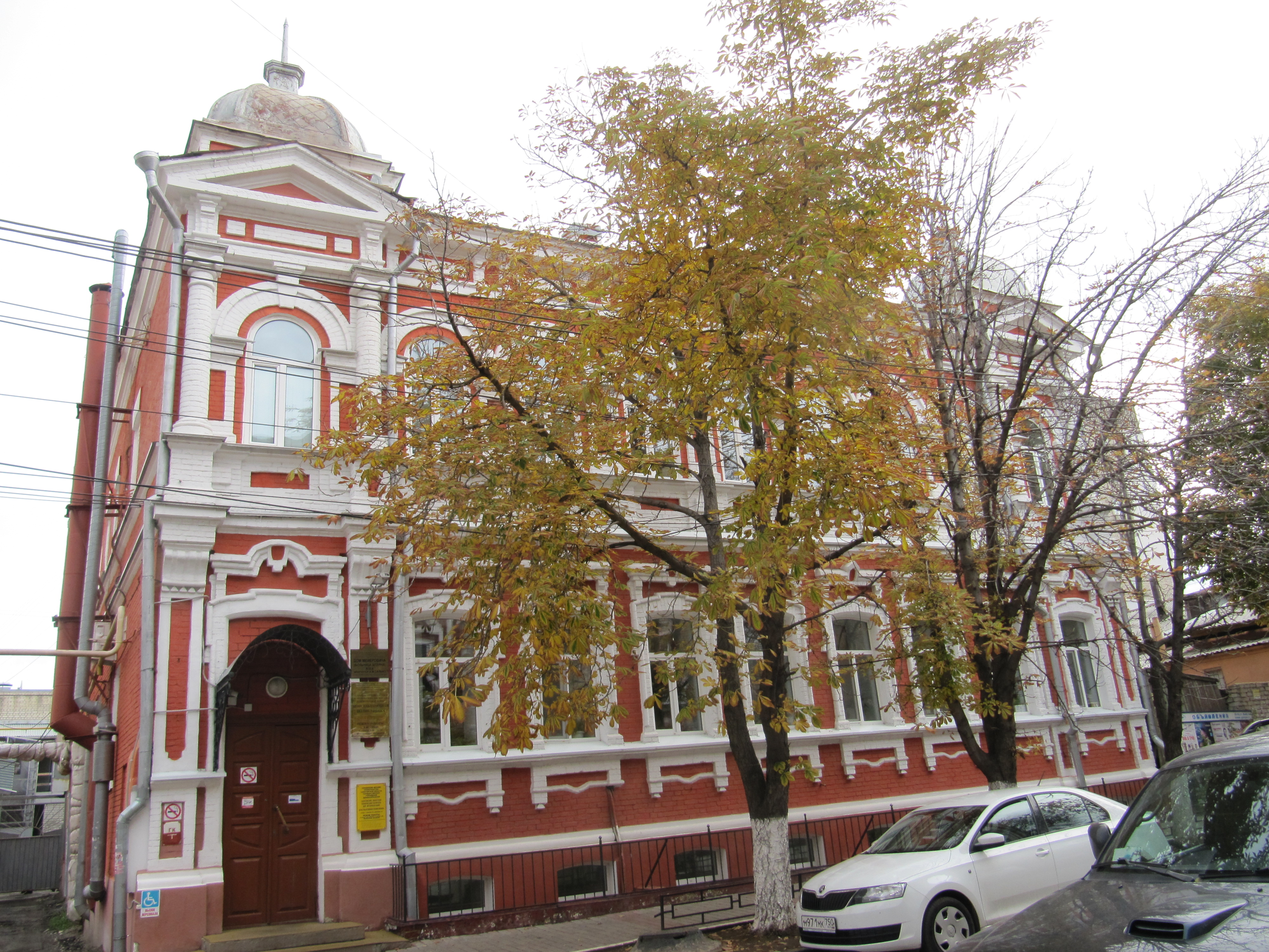 File:Дом Мейеровича Больница Штерна вход ул Соборная 40.jpg