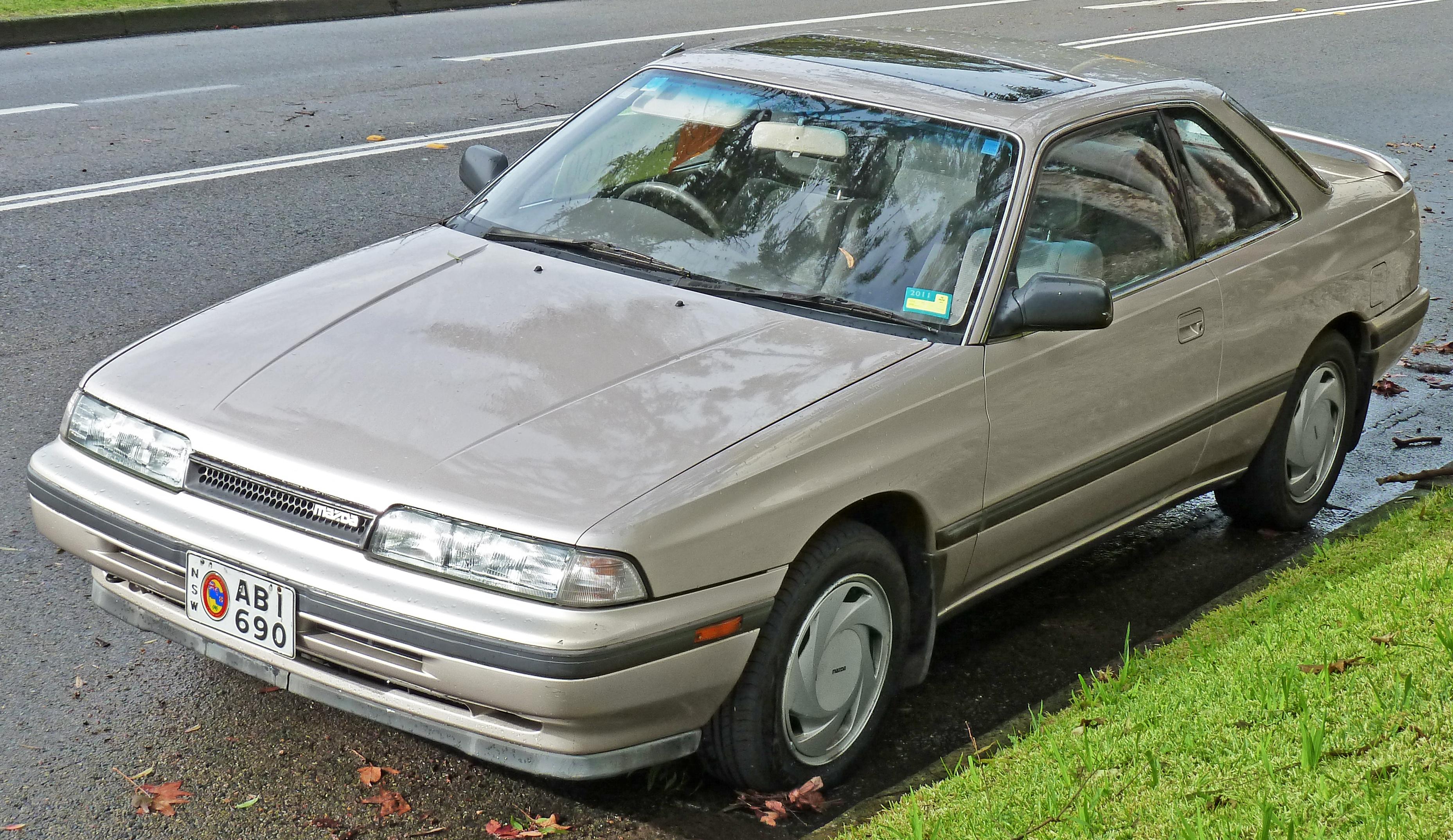 File:1989 Mazda MX-6 (GD Series 2) coupe (2011-06-15).jpg ...