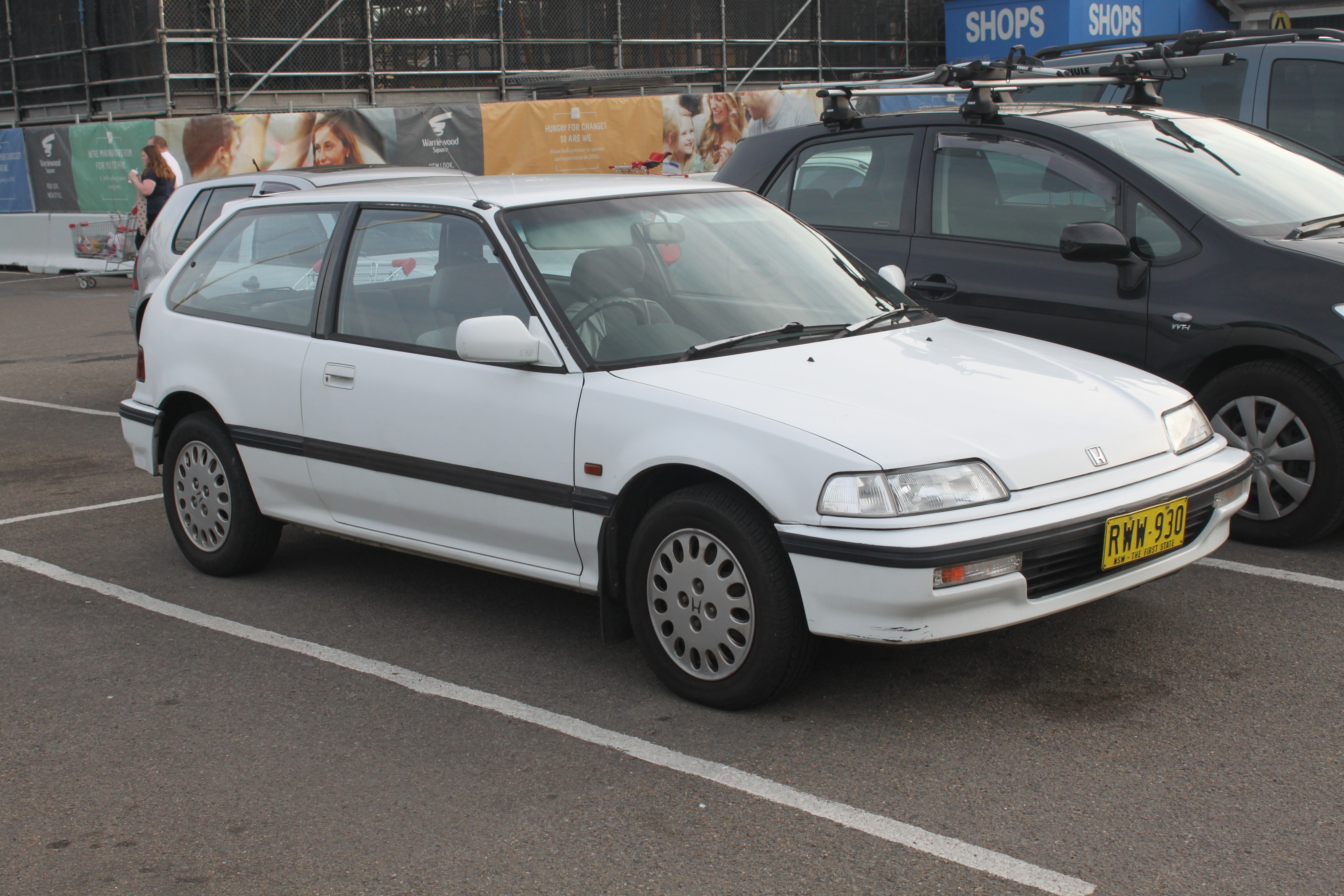 File:1991 Honda Civic (ED) GL hatchback (20669878572).jpg ...