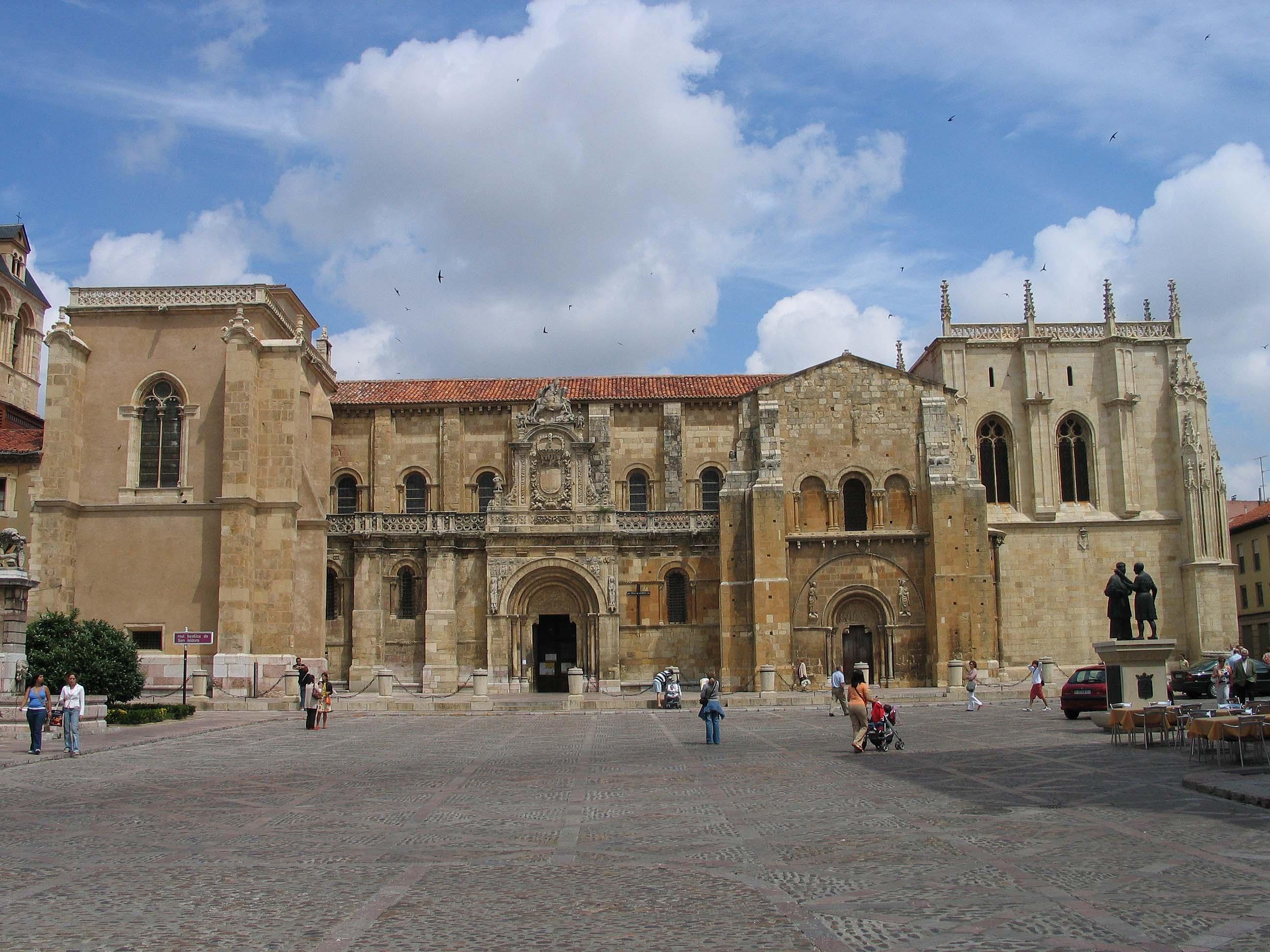 Basílica de San Isidoro de León - Wikipedia, la enciclopedia libre