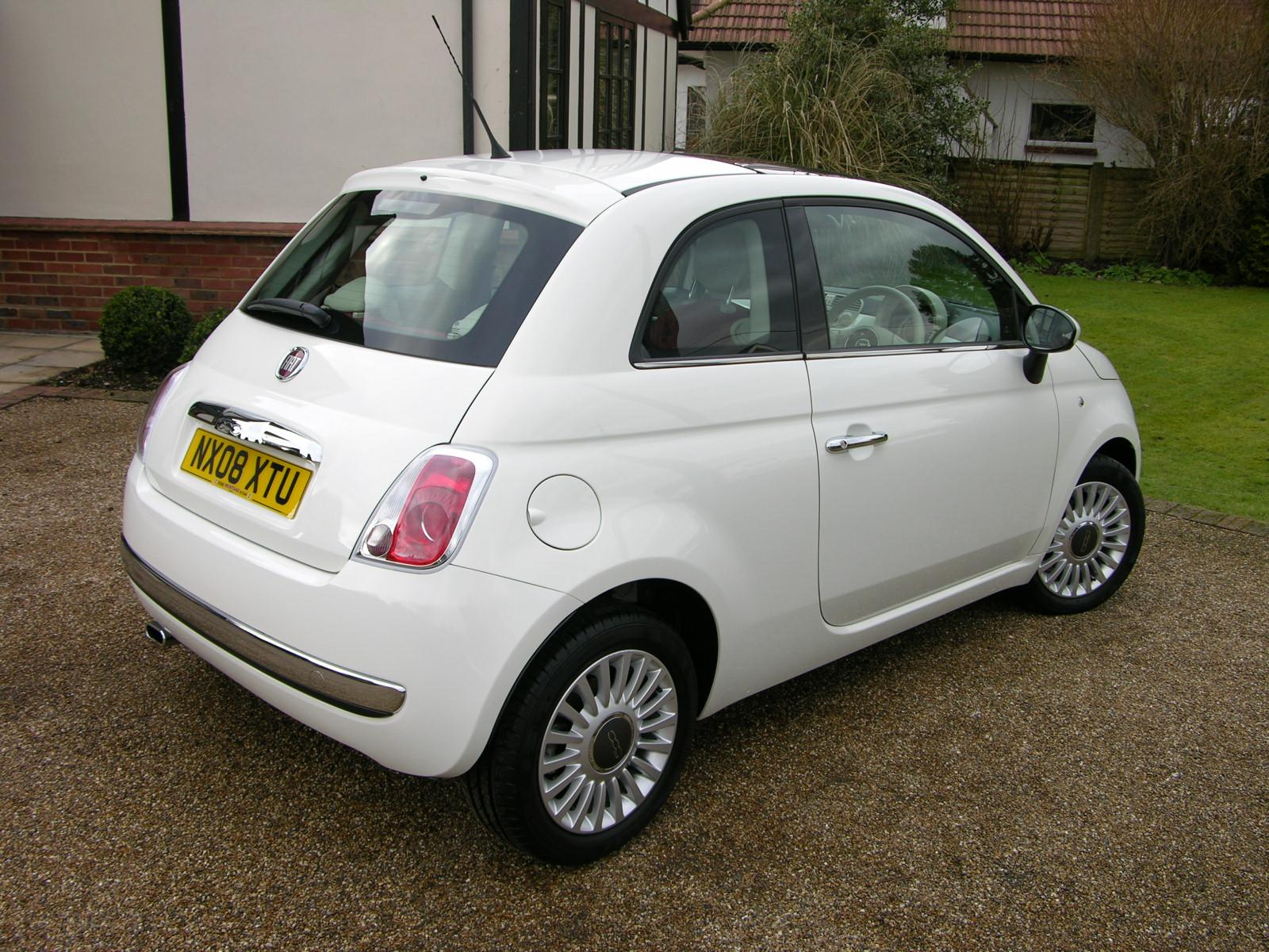 file 2008 fiat 500 1 4 lounge flickr the car spy 14 jpg wikimedia commons. Black Bedroom Furniture Sets. Home Design Ideas