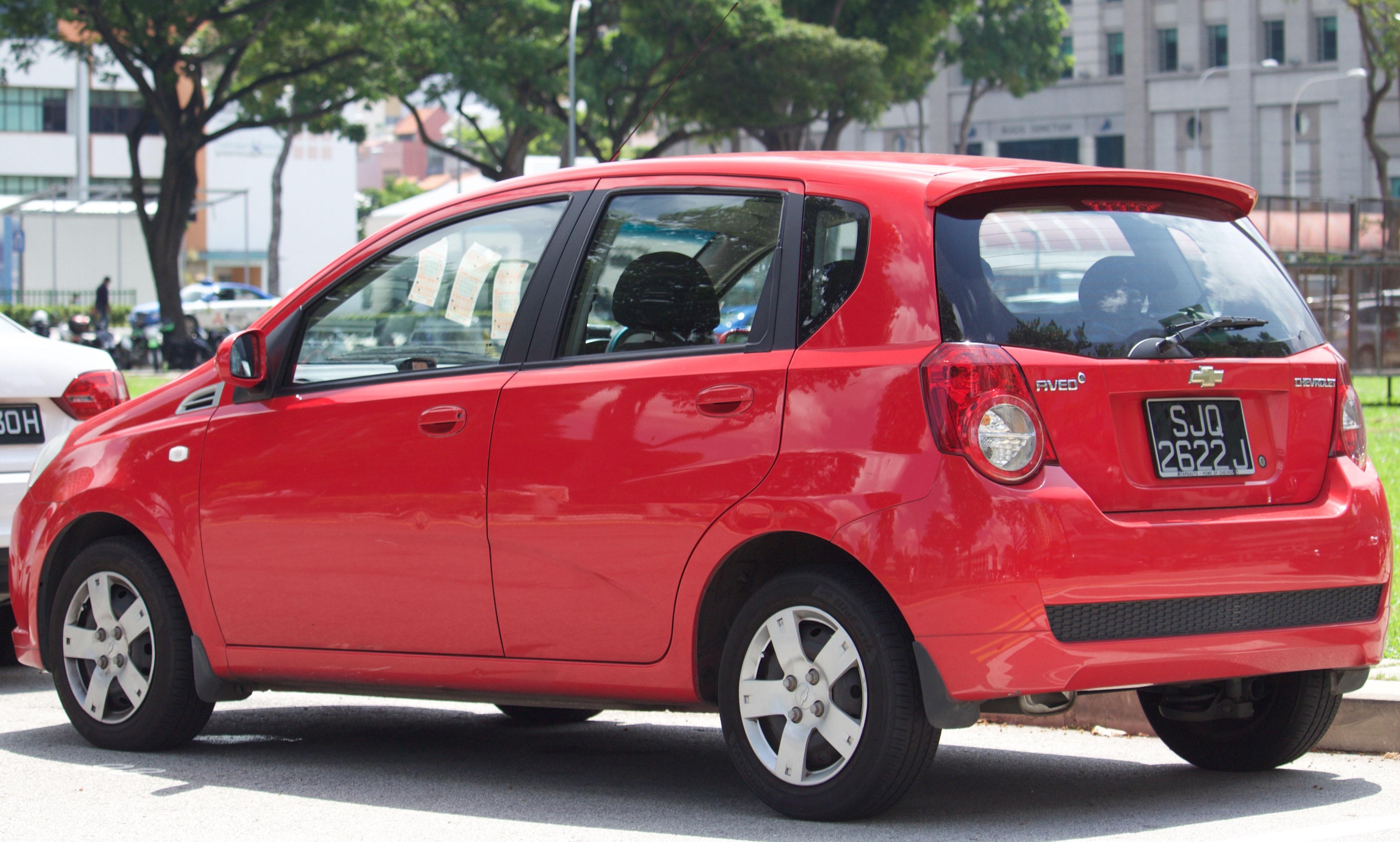 File 2009 Chevrolet Aveo T250 1 4 Hatchback 2016 01 07