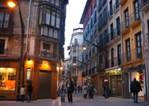 Old city of Pamplona