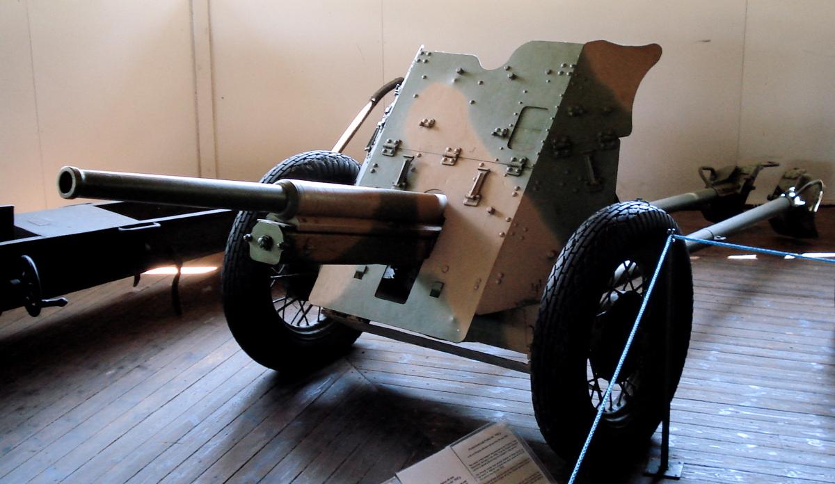 German 50 Mm Anti Tank Gun: 45 Mm Anti-tank Gun M1932 (19-K)