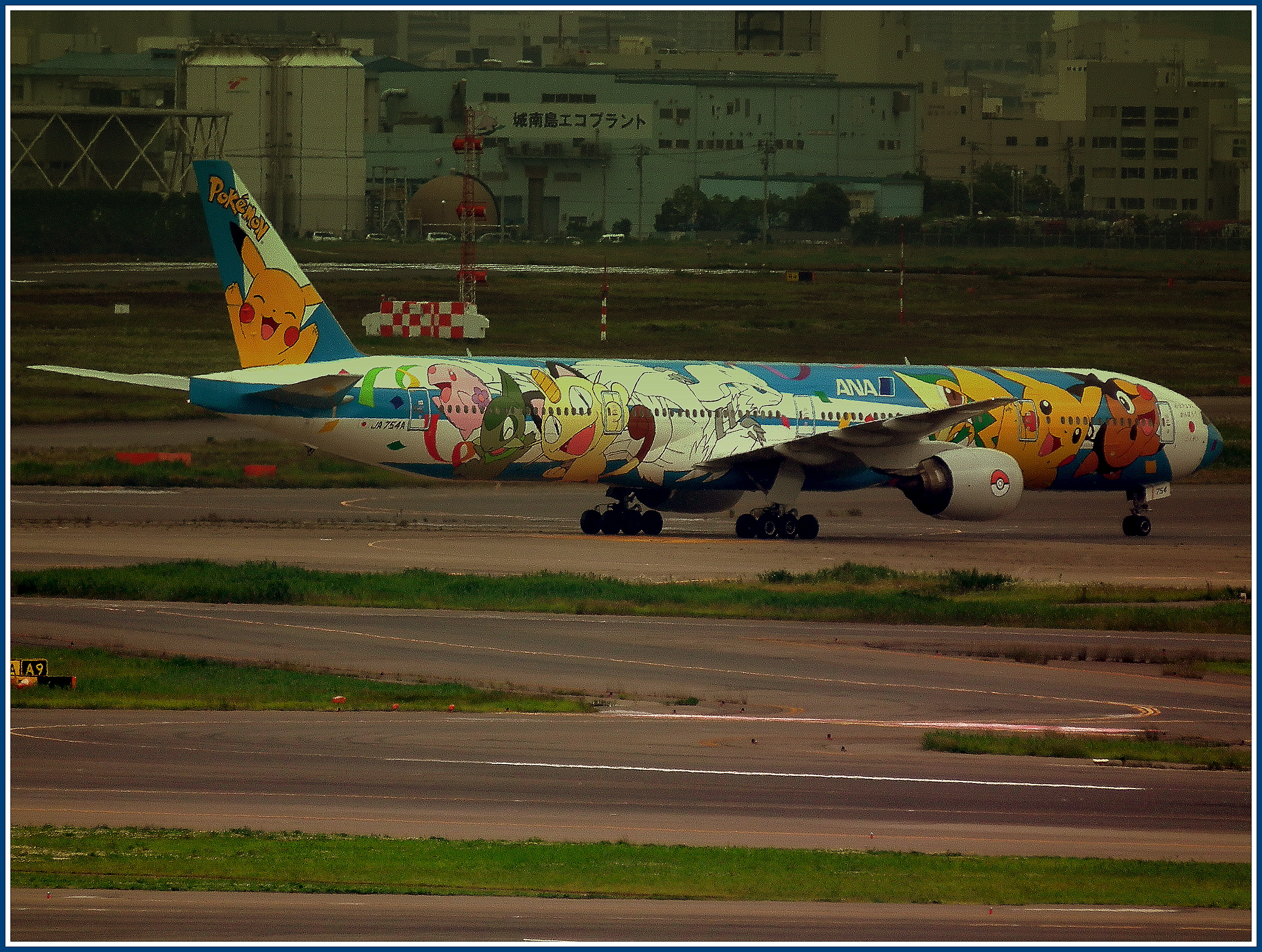 Pokemon Type Chart Gen 1: ALL NIPPON AIRWAYS POKEMON LIVERY BOEING 777-300 HANEDA ,Chart