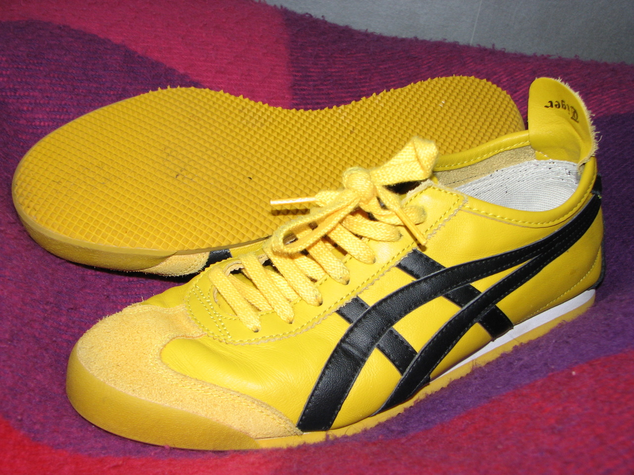 tsx7wdja authentic onitsuka tiger yellow. Black Bedroom Furniture Sets. Home Design Ideas