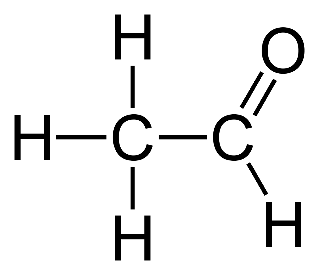 File:Acetaldehyde-2D-flat.png - Wikipedia C2h4o Lewis Structure