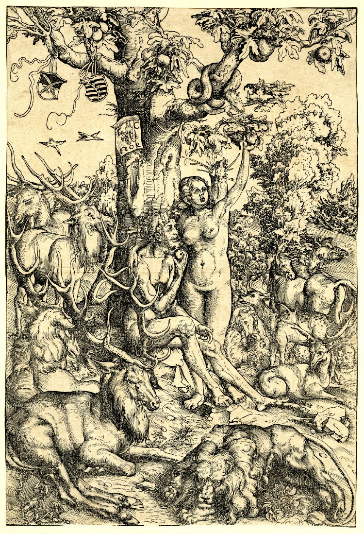 File:Adam and Eve, the Fall by Lucas Cranach the Elder 1509.jpg