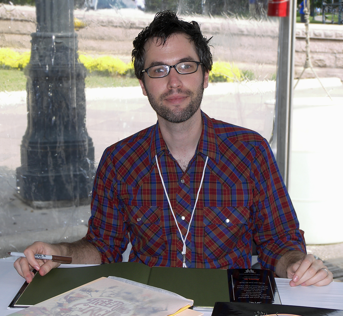 Rex at the 2007 [[Texas Book Festival]]