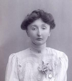 Aeta Lamb suffragette