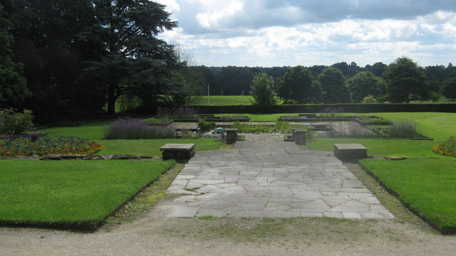 Allestree Hall Gardens in Allestree Park, Derby - geograph.org.uk - 1653003
