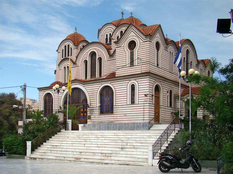 Agia Marina 8hseioy Naos Bikipaideia