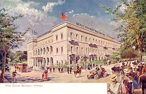 Grande Bretagne Hotel Athens Restaurant