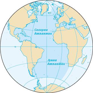 Mora i okeani AtlantskiOkean