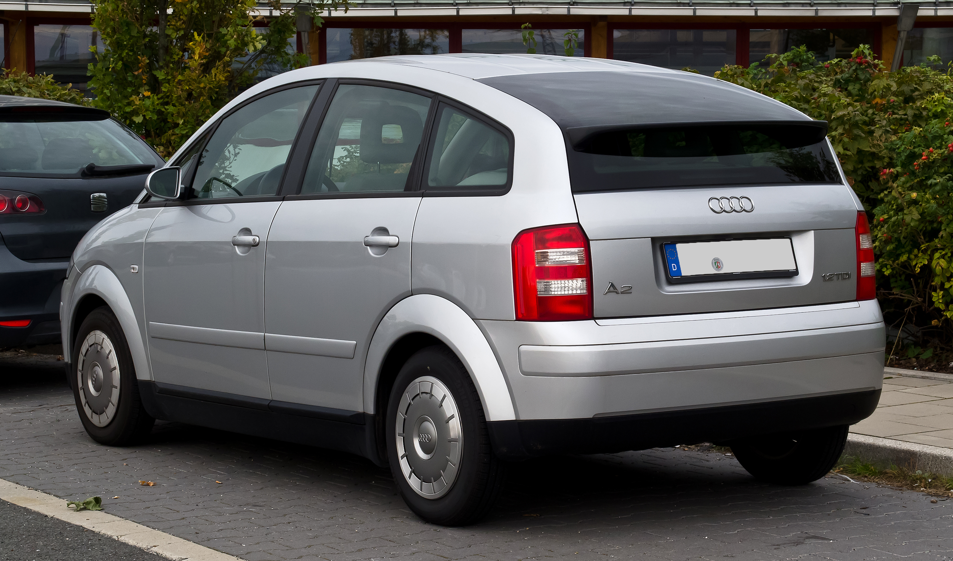 Archivo Audi A2 1 2 Tdi Heckansicht 23 September 2012