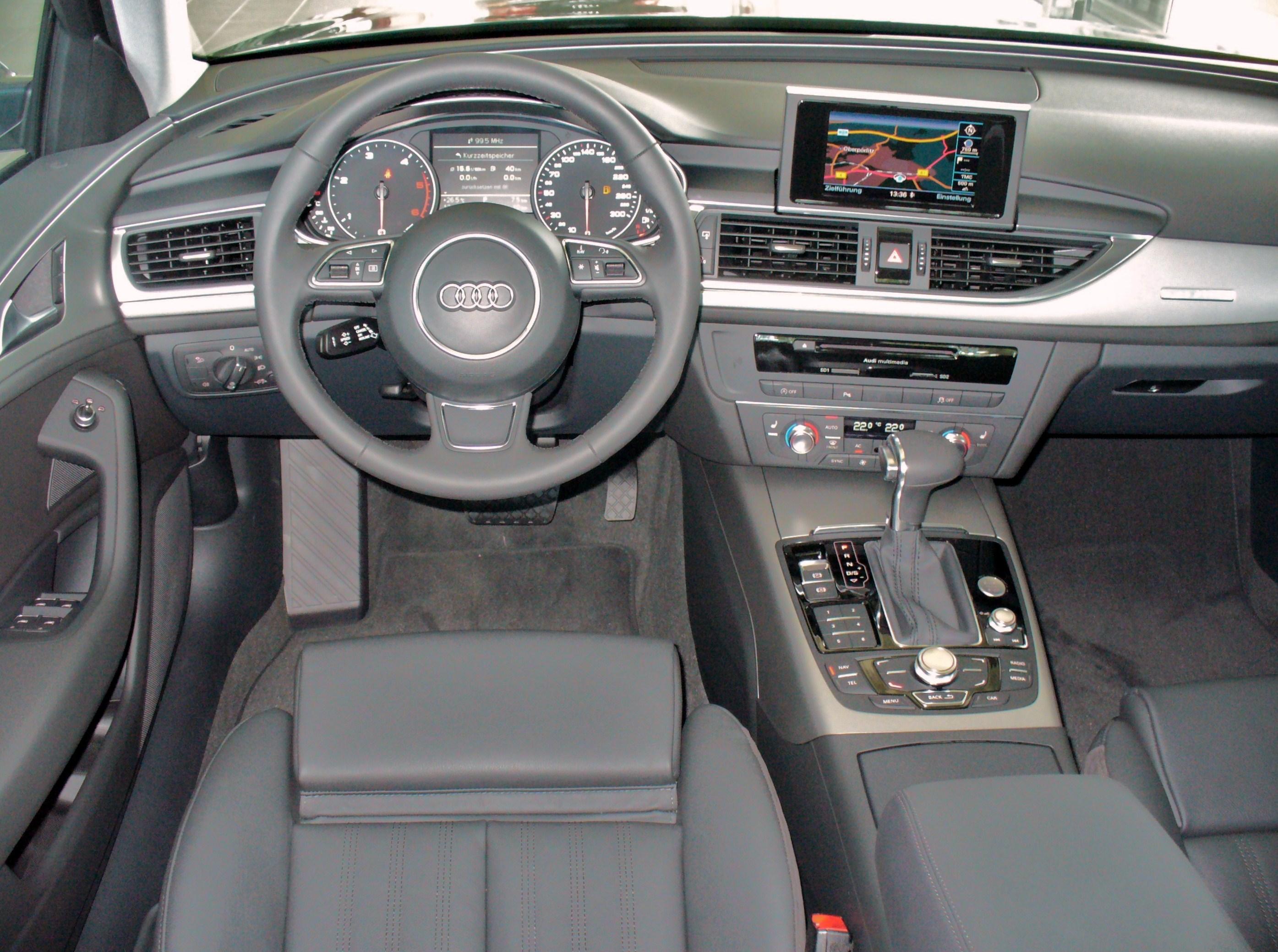 File audi a6 limousine 3 0 tdi quattro s tronic for Interieur limousine